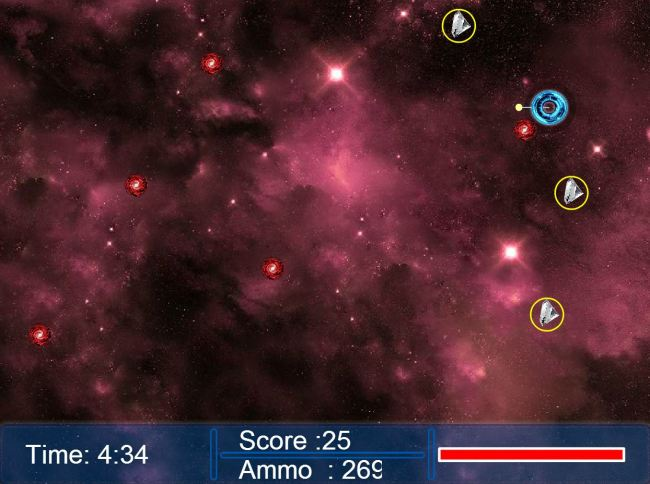 Space shell mayhem