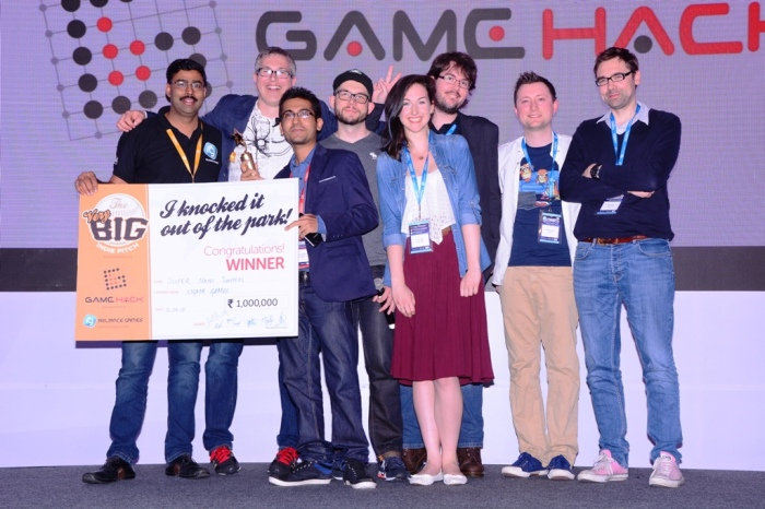 Winner of Pocket Gamer Connects Bangalore - Himanshu Manwani
